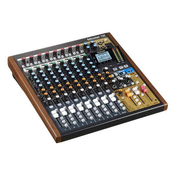 Tascam Model 12 Multitrack Recorder with Integrated USB Audio Interface