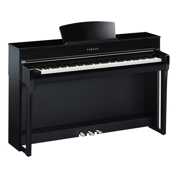 Yamaha CLP-735PE Clavinova Digital Piano, Polished Ebony