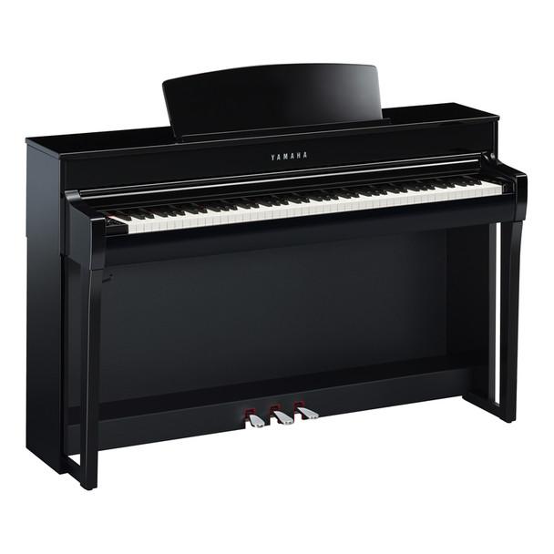 Yamaha CLP-745PE Clavinova Digital Piano, Polished Ebony