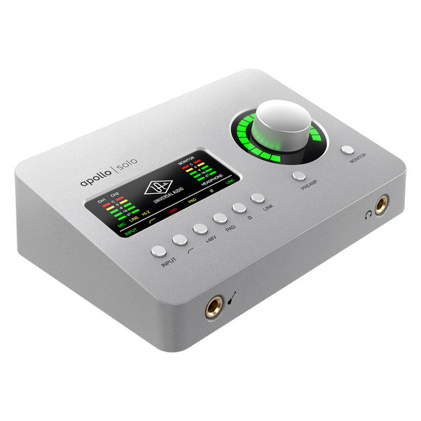 Universal Audio Apollo Solo Thunderbolt 3 Interface