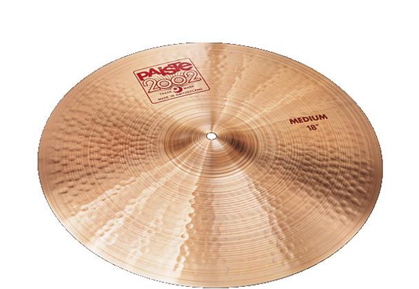 Paiste 2002 18 Inch Medium Crash Cymbal