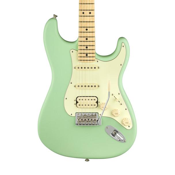 Fender American Performer Stratocaster HSS Electric Guitar, Satin Surf Green, Maple