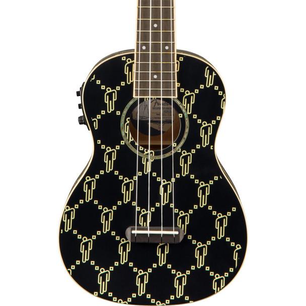 Fender Billie Eilish Ukulele, Black blohsh, Walnut Fingerboard