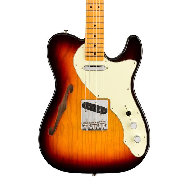 Fender American Original 60s Telecaster Thinline, 3 Colour Sunburst, Maple