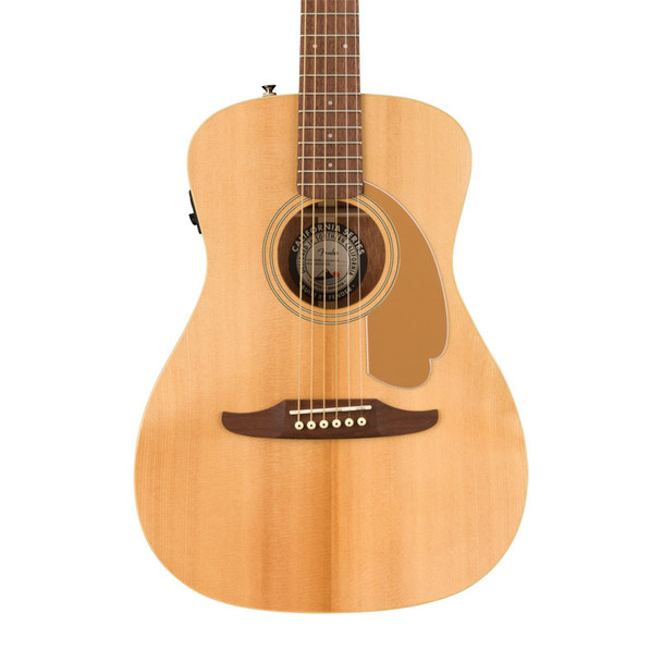 Fender Malibu Player Electro-Acoustic Guitar, Natural