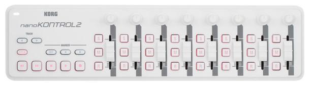 Korg NanoKONTROL2 USB Control Surface (White)