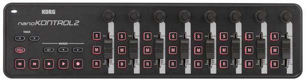 Korg NanoKONTROL2 USB Control Surface (Black)