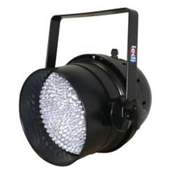 LEDJ LED Par 64 Can (black) (DMX)   (LEDJ34)