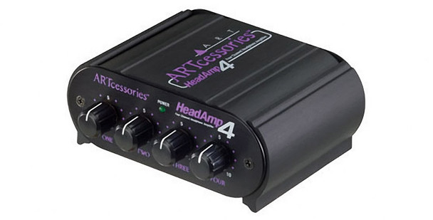 ART Headamp 4 four output stereo headphone amplifier