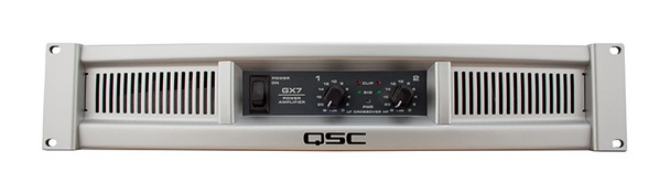 QSC GX7 power amplifier  (1000Wpch at 4 Ohms)