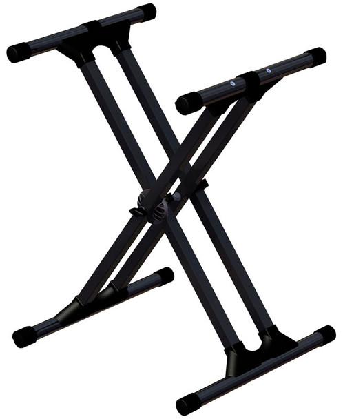 Ultimate Support IQ-3000mkII heavy duty double braced X keyboard stand