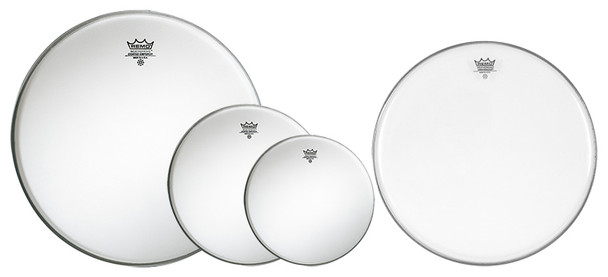 Remo Emperor Coated US Fusion Drum Head Pack with 14 inch Ambassador