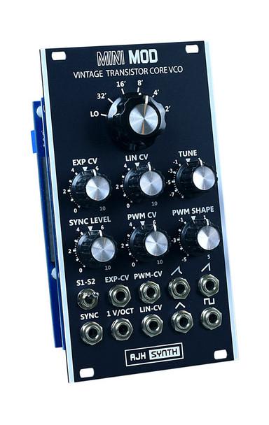 AJH Synth MiniMod VCO Eurorack Oscillator Module, Dark Edition