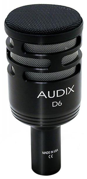 Audix D6 Dynamic Kick Drum Microphone