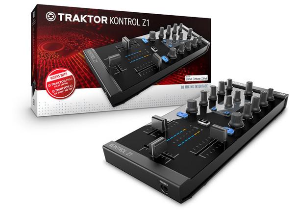 Native Instruments Traktor Kontrol Z1 Mixer Controller with USB Audio Interface