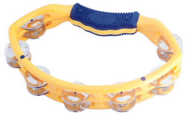 Natal NS102TY Spirit Tambourine, Yellow