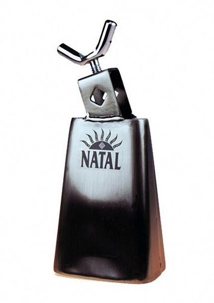Natal Spirit NSTC5 5 1/2 inch Cowbell Black Nickel Medium