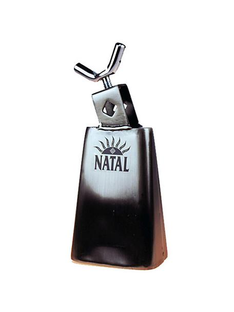 Natal Spirit NSTC6 6 1/2 inch Cowbell Black Nickel Large