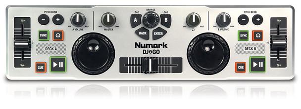 Numark DJ2GO Portable USB DJ Software Controller