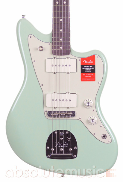 Fender Limited Edition American Pro Jazzmaster Rosewood Neck, Surf Green