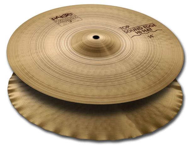 Paiste 2002 14 Inch Sound Edge Hi-Hat Cymbals