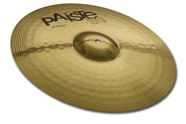 Paiste 101 16 Inch Brass Crash Cymbal