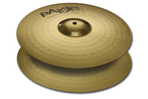 Paiste 101 14 Inch Brass Hi-Hat Cymbals