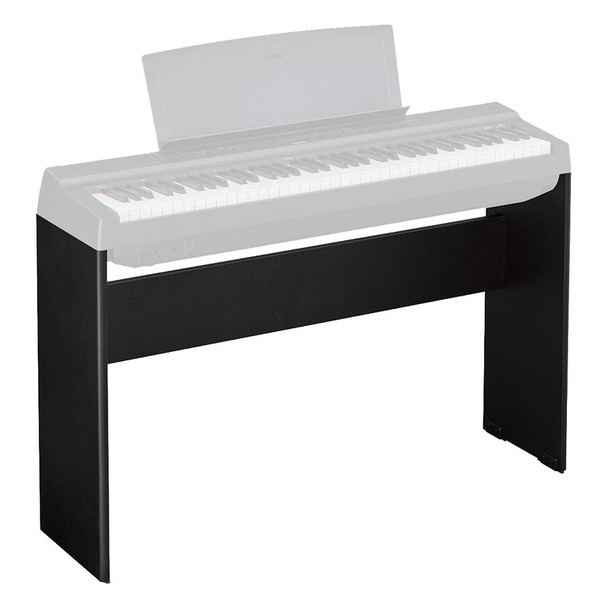 Yamaha L-121B Wooden Stand For P-121 Digital Piano, Black
