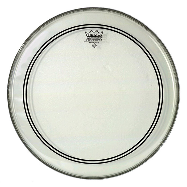 Remo P3-1320-C2 Powerstroke 3 20 Inch Clear Bass Drum Head