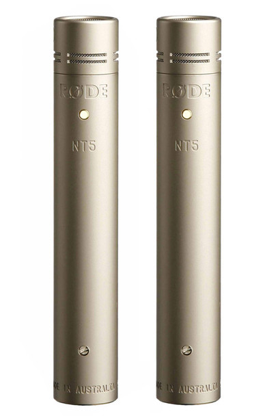 Rode NT5 Condenser Microphones (Matched Pair)