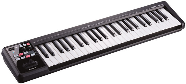 Roland A-49 49 note USB/MIDI Controller Keyboard, Black