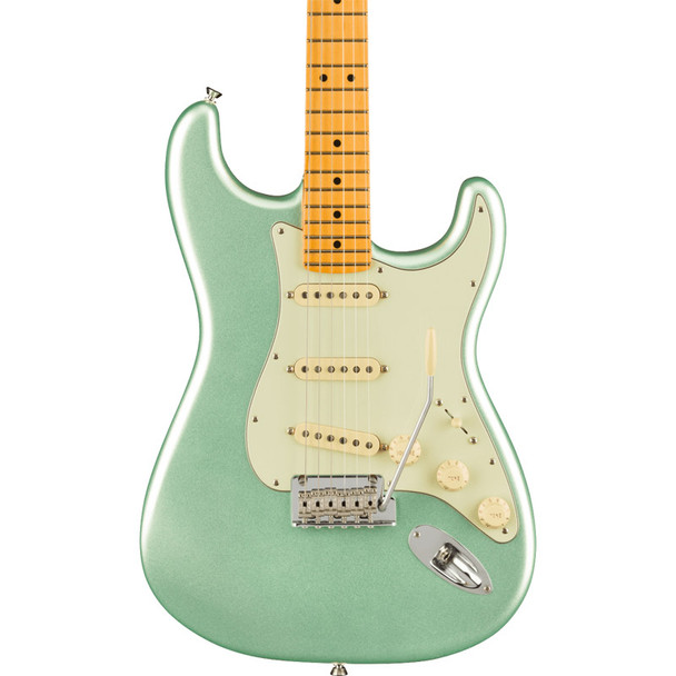 Fender American Professional II Stratocaster, Maple Neck, Mystic Surf Green