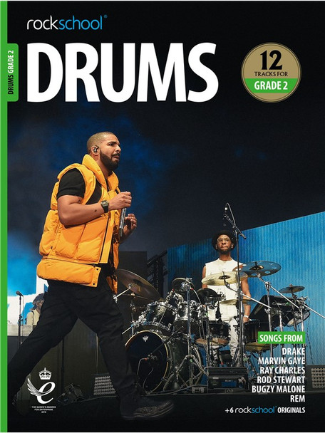 Rockschool: Drums Grade 2 2018 (Book/Audio)
