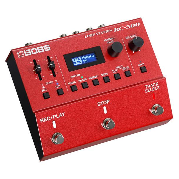 Boss RC-500 Dual Track Guitar Effects Looper Pedal