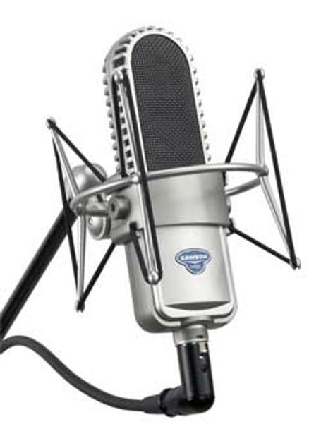 Samson VR88 ribbon microphone (includes suspension & case)