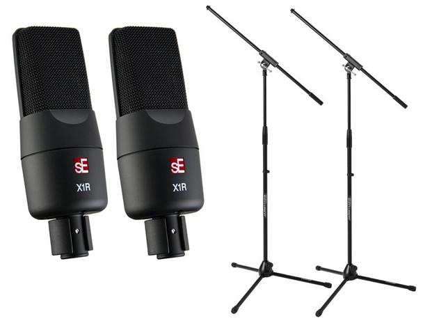 SE Electronics sE X1R Ribbon Microphone Pair Bundle