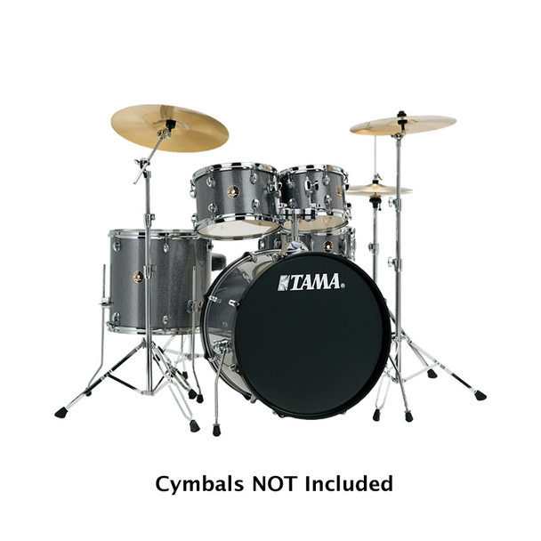 Tama Rhythm Mate Drum Kit Complete With Hardware in Galaxy Silver