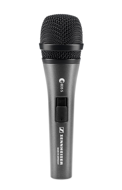 Sennheiser E835S Handheld Dynamic Microphone with Switch
