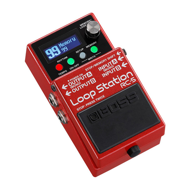 Boss RC-5 Guitar Effects Looper Pedal