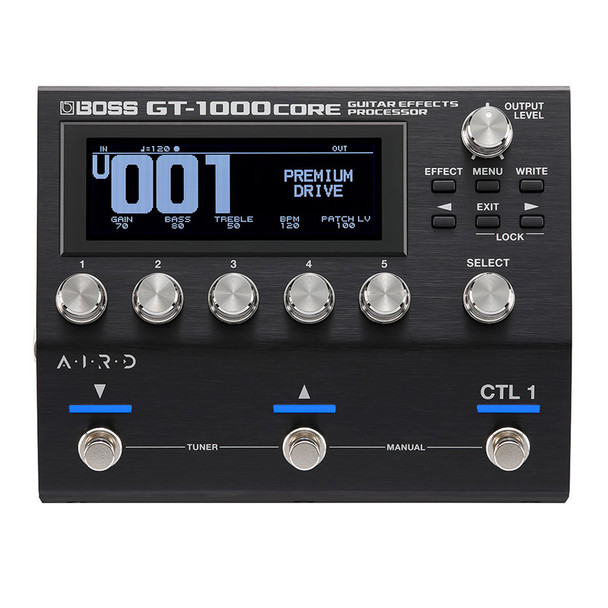 Boss GT-1000CORE Multi Guitar Effects Pedal