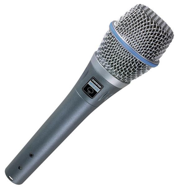 Shure Beta 87A Handheld Vocal Condenser Microphone (Super-cardioid)