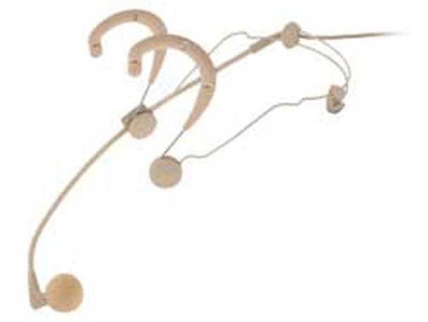 Shure WBH54T headworn supercardioid microphone (tan)