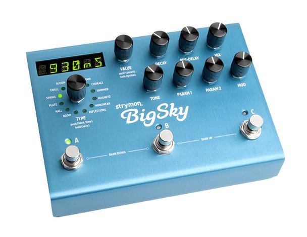 Strymon Big Sky Reverb Effects Pedal