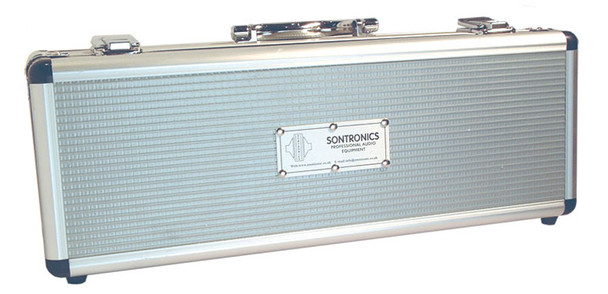 Sontronics STC-2 large diaphragm condenser mic (Silver, includes suspension)