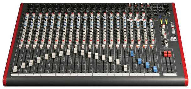 Allen & Heath ZED-24 Mixing Console (16 mono + 4 stereo) with USB