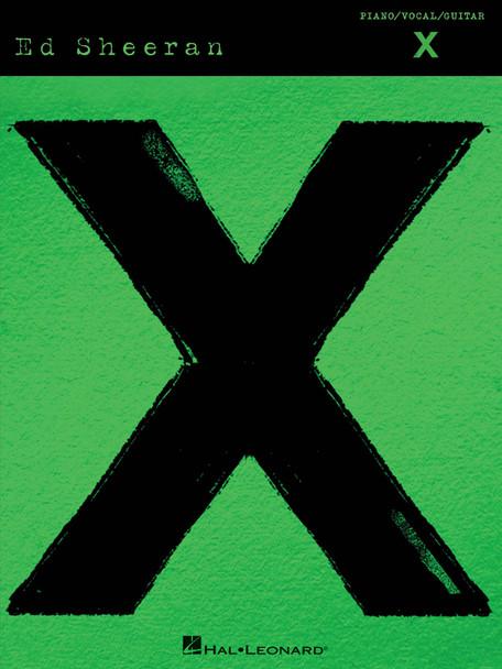 SHEERAN ED X PVG SONGBOOK BK
