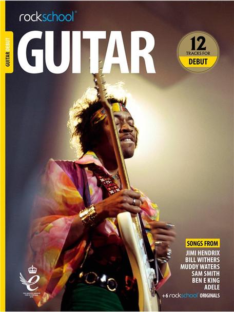 Rockschool: Guitar Debut 2018 (Book/Audio)