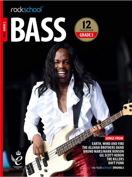 Rockschool: Bass Grade 5 2018 (Book/Audio)