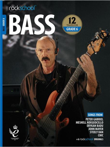 Rockschool: Bass Grade 6 2018 (Book/Audio)