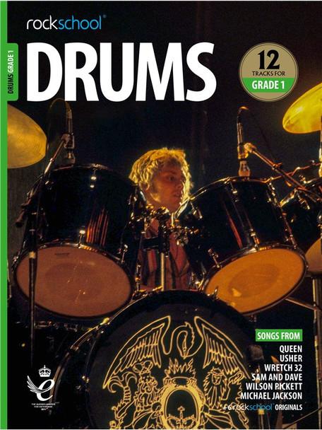 Rockschool: Drums Grade 1 2018 (Book/Audio)